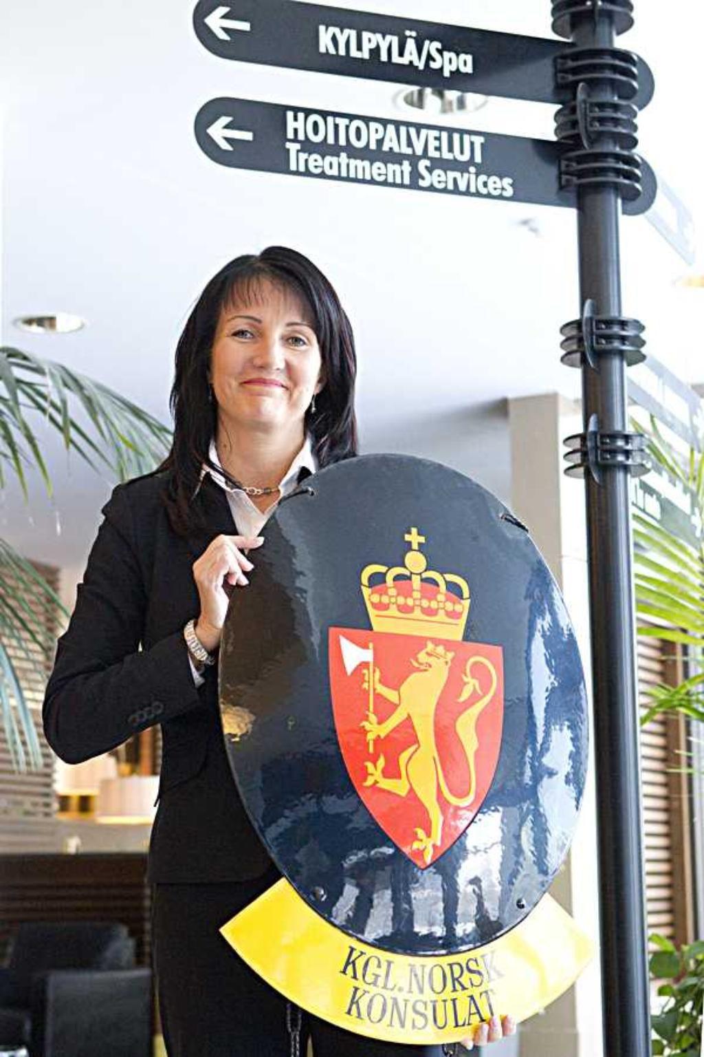 Ouluun uusi kunniakonsuli  Oulu  Kaleva fi