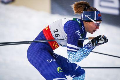 Lylynperä ylsi kauden parhaaseensa ja oli 12:s, Svahn hiihti toisen sprinttivoittonsa