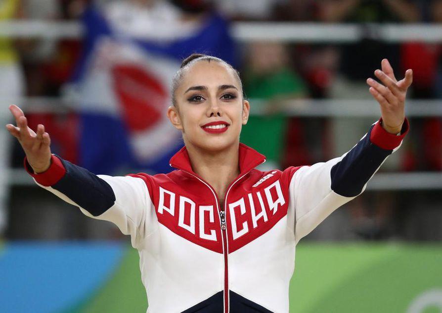 Margarita Mamun toi Venäjälle viidennen peräkkäisen neliottelun voiton olympiatasolla.