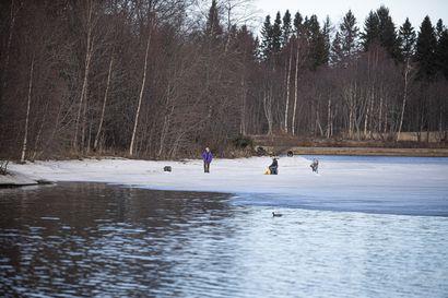 Kevät eteni hitaasti huhtikuussa: Suomen pohjoisosissa oli paikoin keskimääräistä viileämpää