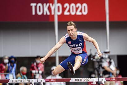 Karsten Warholm on poikkeuslahjakkuus, joka saavutti juniorien EM-hopeaa kymmenottelussa – Onko Tokion järjettömän ME-ajan 45,94 selitys trampoliinimaisessa radassa?