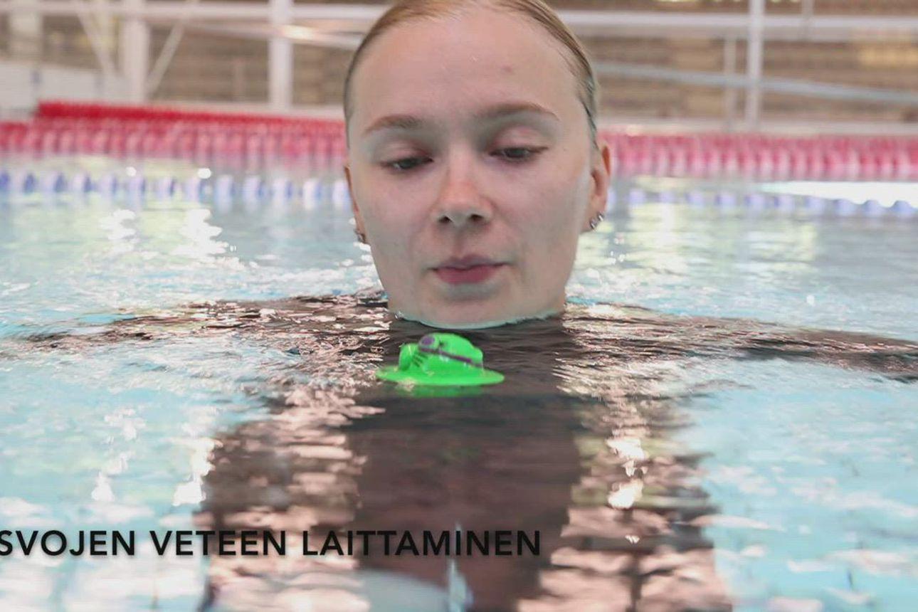 Uimaopetuksen alkeet