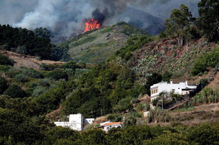 Tejeda sijaitsee Gran Canarian keskiosissa vuoristoisella alueella.