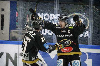 Koblizek ratkaisi Kärppien voiton voittolaukauksilla - liigakärjeltä puuttui 14 pelaajaa