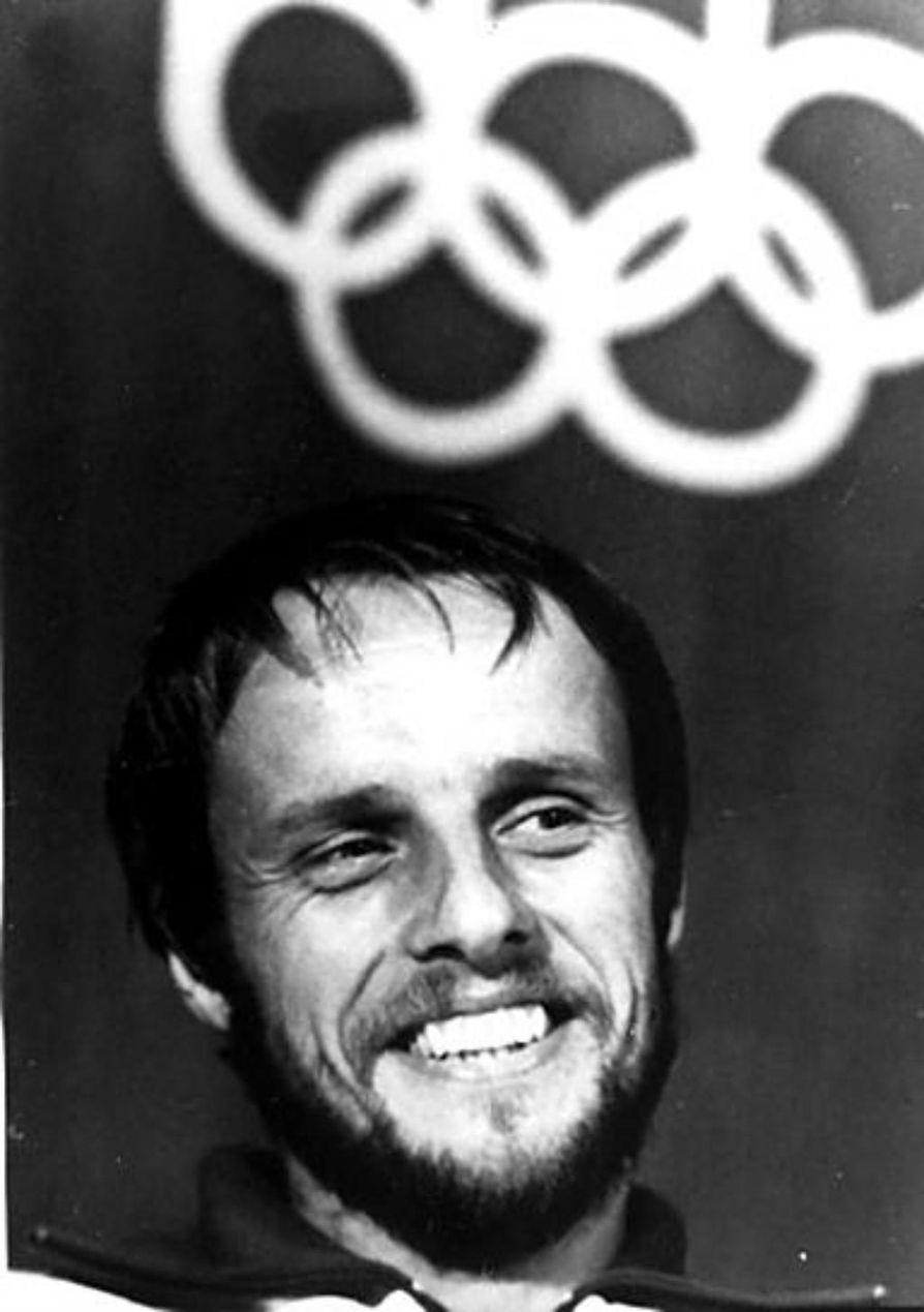 Lasse Viren ja Pekka Vasala olivat vuoden 1972 olympiavoittajia Münchenissa 10 000:lla ja 1500 metrillä.