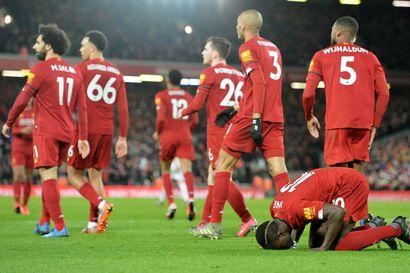 Liverpoolille 18. perättäinen voitto Valioliigassa - Englannin pääsarjan ennätys