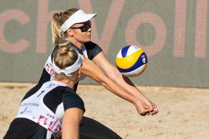 Niina Ahtiainen ja Riikka Lehtonen viidensiä beach volleyn EM-kisoissa
