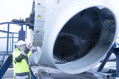 Piiparinmäen tuulivoimatyömaa hiljenee pian talvitauolle –koronarajoitukset vaikuttavat arkeen ulkotöissäkin