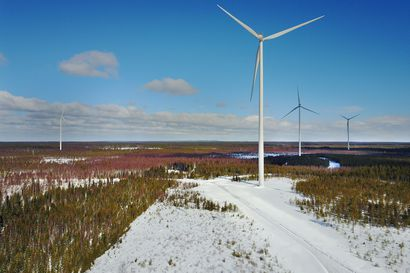 Lapin kunnat keräsivät yhteensä 2,6 miljoonaa euroa kiinteistöveroa tuulivoimaloista