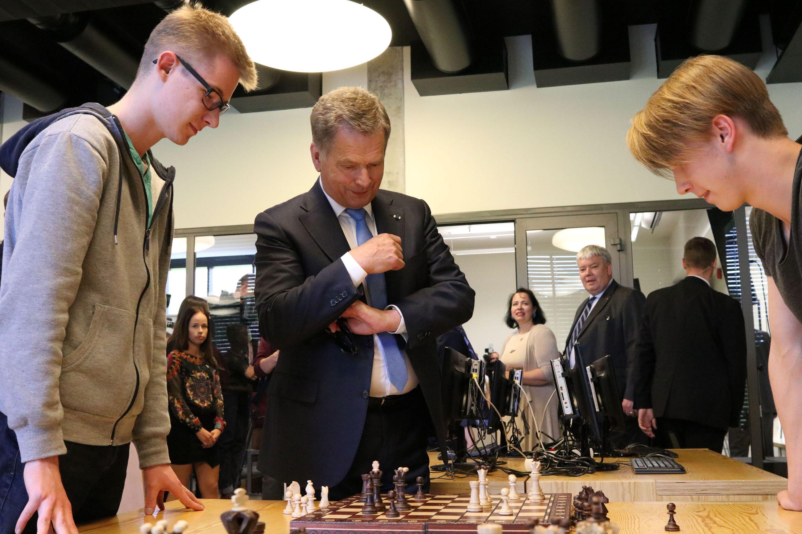 Ilo ylimmillään: Presidentti Niinistö ja Kanadan