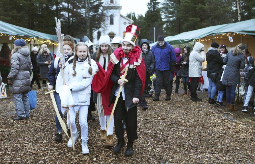 Oulunsalon joulumarkkinat järjestetään tänä vuonna jo seitsemättä kertaa. Arkistokuva.