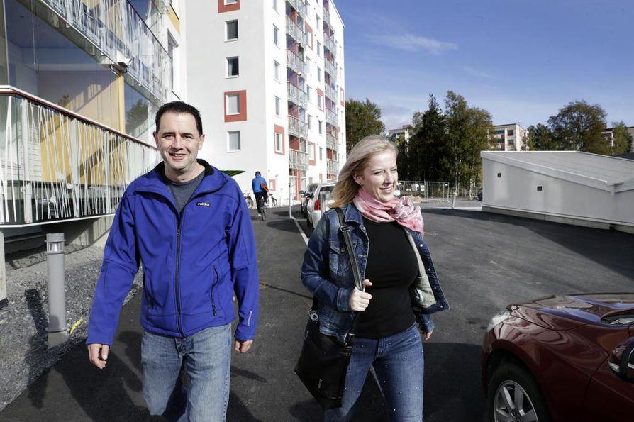 Steven ja Anna LaValle muuttivat lähelle Hartaanaselkää. Steven LaValle ihastui Ouluun pikavisiitillään vuonna 2007.