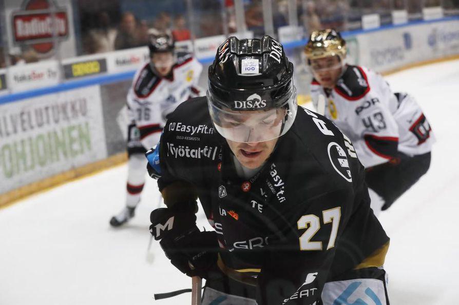 Kärpissä viisi kautta pelannut Miska Humaloja siirtyy Kuopioon.