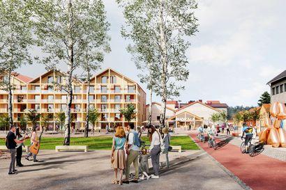 """""""Hiukkavaarassa on potentiaalia Oulun nähtävyydeksi"""" – kasarmialueelle suunnitellaan isoa terassiravintolaa esiintymislavoineen, näyttelytilaa ja uudisrakentamista"""