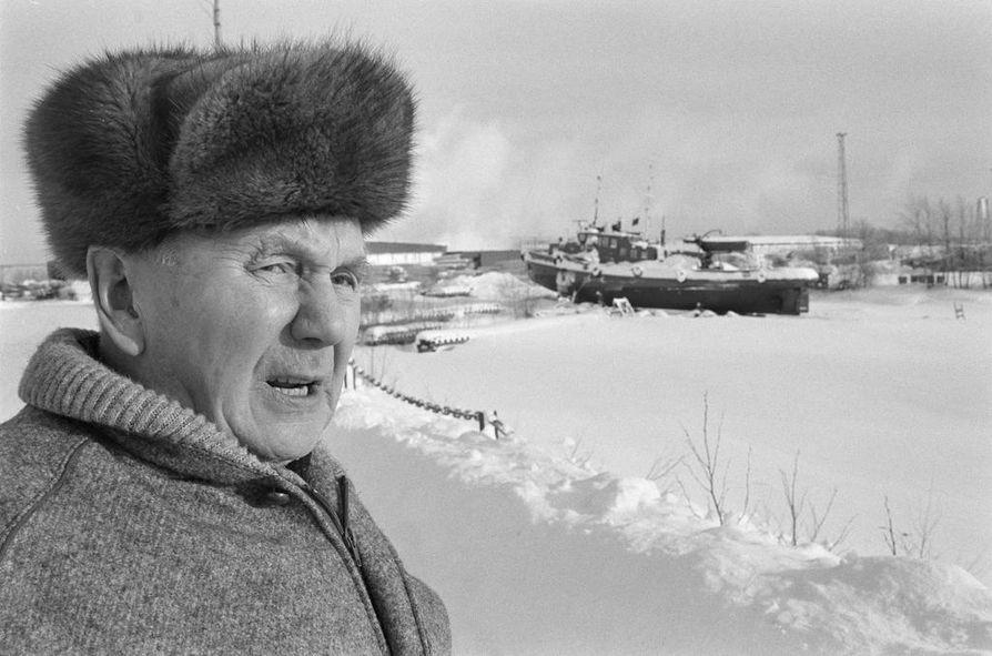 Aarne oli yhtiön mies 51 vuotta, neljä kuukautta ja 23 päivää.
