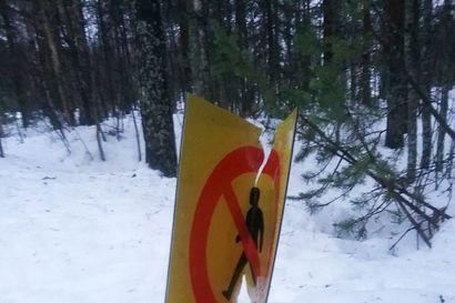 Autoillakin on päädytty laduille, mutta kunnossapitäjä ei näe latujen väärinkäyttöä isona ongelmana Rovaniemellä
