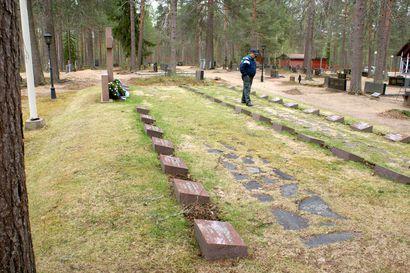Sarakylän hautausmaalla tehdään uudistuksia – uusi muisto- ja uurna-alue tulossa lähelle sankarihautoja