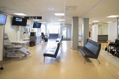 OYSin koronapotilasmäärän kasvu maanantaina johtui sairaanhoitopiirin ulkopuolelta tulleista potilaista
