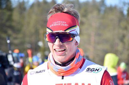 Erä-Veikkojen Tossavaisella herkullinen lähtöpaikka Ristijärven SM-kisojen 15 kilometrillä – Hyvärisen perään ennen olympiavoittajaa