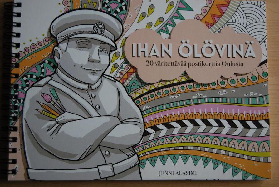 Oulu-aiheinen värityskirja julkaistiin torstaina.