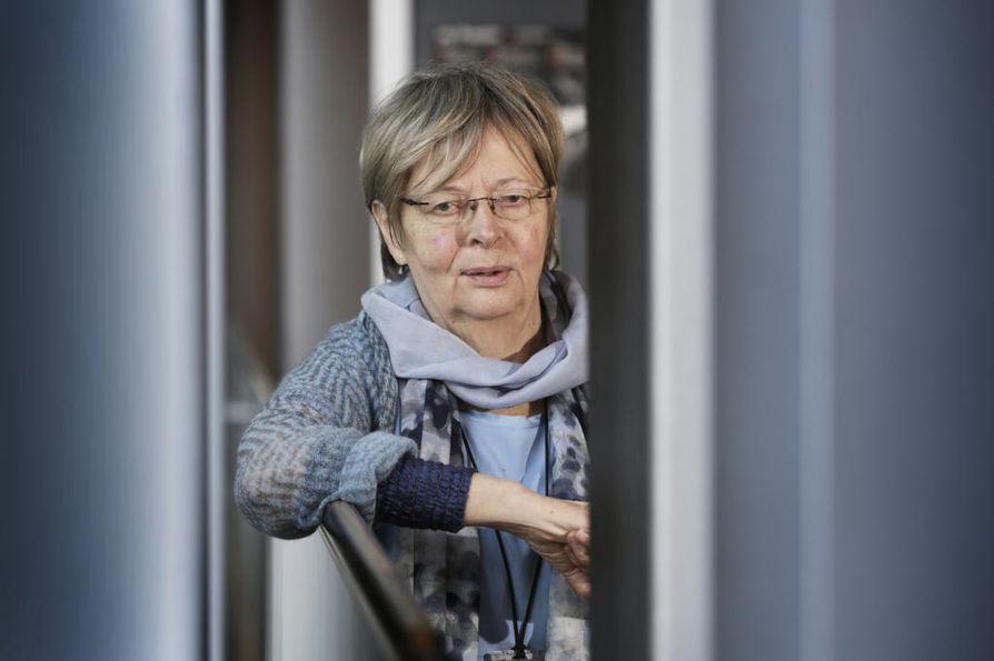 Liisa Jaakonsaari ei ollut enää ehdolla europarlamenttiin. Arkistokuva.