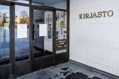 Lainoja saa palauttaa Rovaniemen kaupunginkirjastoon taas maanantaina