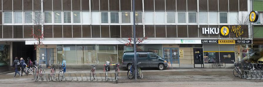 Galleria Harmajan entisiä tiloja Torikadulla remontoidaan jo ravintolaksi.