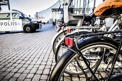 Pyörävarkaudet kasvussa: Ilmoita varkaus ja epäilykin poliisille