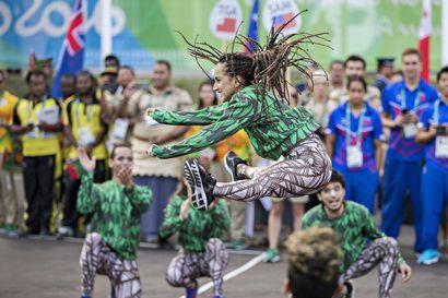 Rion monet kasvot - katso Kalevan kuvaajan otokset urheiluhumun ulkopuolelta
