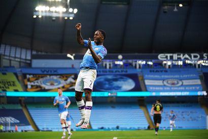 Manchester City kukisti Arsenalin – Liverpoolin odotus jatkuu