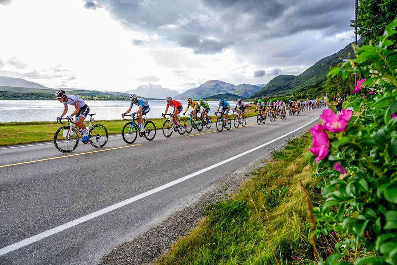 Pyöräilyn maailmantähtiä Kilpisjärvelle - Arctic Race of Norway piipahtaa Suomeen