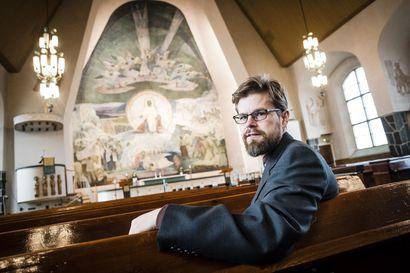 Rovaniemen kirkon Elämän lähde täyttää 70 vuotta –juhlakantaatti kutsuu freskon äärelle