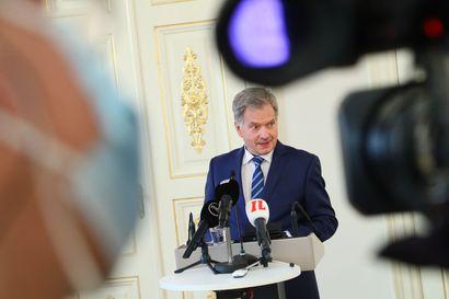 Presidentti Niinistö ei odota Bidenin voiton muuttavan Suomen ja USA:n suhteita, Niinistö toivoo USA:n paluuta Pariisin ilmastosopimukseen