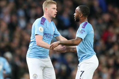 Manchester City kaatoi Valioliigan kärkipelissä Chelsean