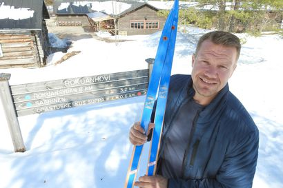 Ei mikään tavallisen ladun kiertäjä - seitsemän lapsen isä Keijo Kurttila on entinen sprintteritykki, nykyinen rehulinko ja hotellinomistaja
