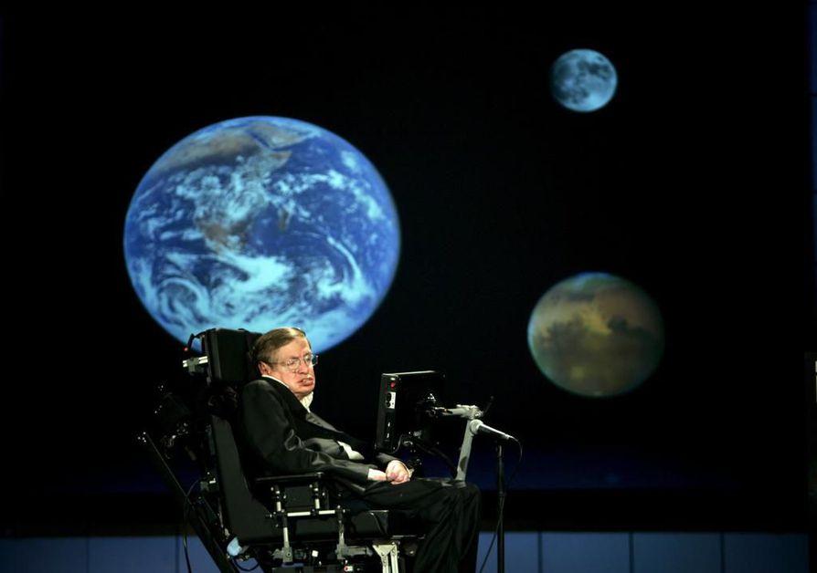 Stephen Hawking oli yksi maailman tunnetuimmista fyysikoista.