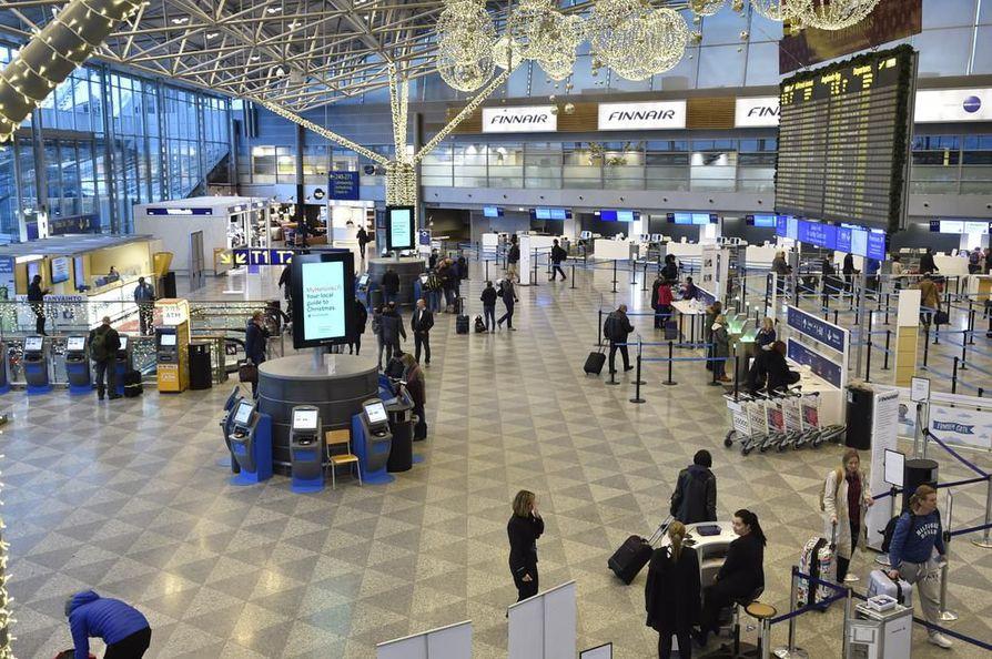 Helsinki-Vantaan lentoaseman kautta kulki viime vuonna yli 18,9 miljoonaa matkustajaa.