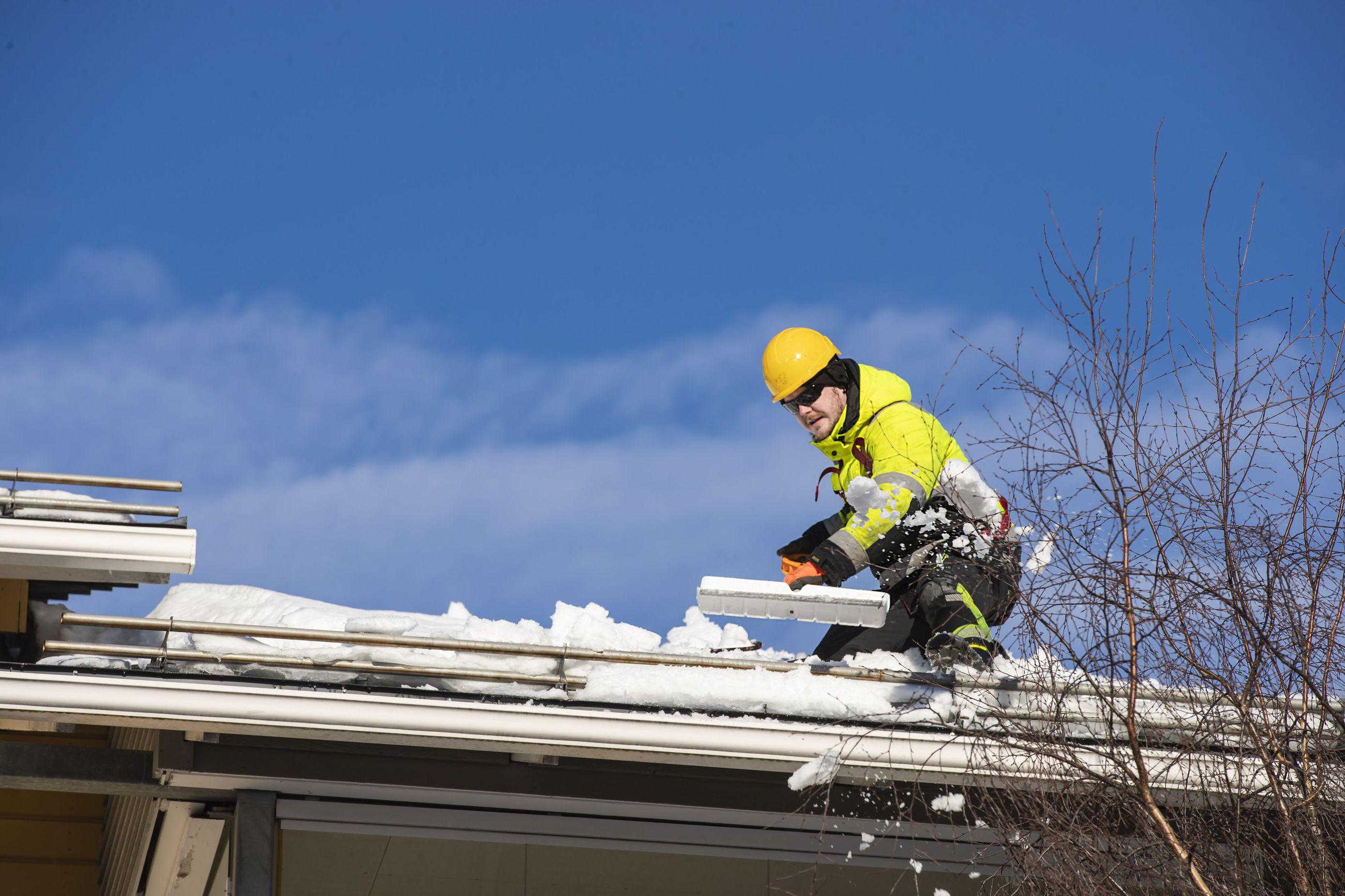Lumenpudotuksen sesonki alkoi Oulun seudulla viime viikolla.