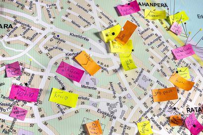 Kun kaupunkilaisilta kysyttiin paikannimistä, vastauksiksi saatiin sekä elämäntarinoita että paikallishistoriaa