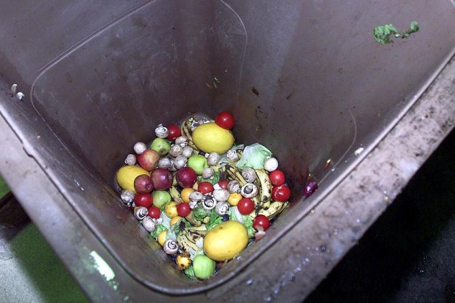Ruokaa heitetään roskiin jopa yli 125 eurolla jokaista suomalaista kohden vuodessa.