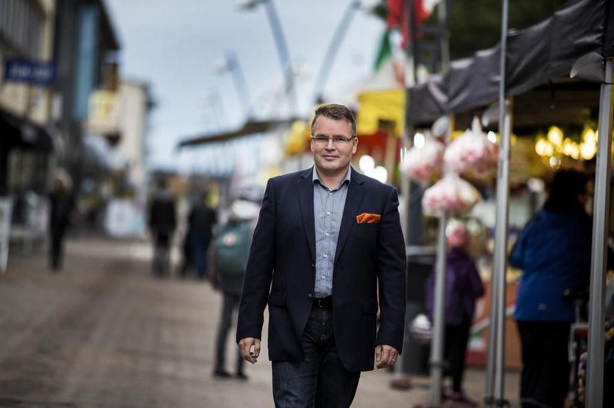 - Lehto Group lähti mielestäni tekemään projekteja ja asioita, joiden takana en voinut enää seisoa, yhtiön entinen liiketoimintajohtaja ja aiemmin yhtiön toiseksi suurin omistaja Asko Myllymäki sanoo. Arkistokuva.