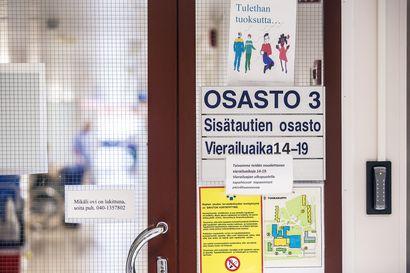 Vierailut Raahen sairaalan osastoilla ja hyvinvointikuntayhtymän muissa yksiköissä sallitaan jälleen