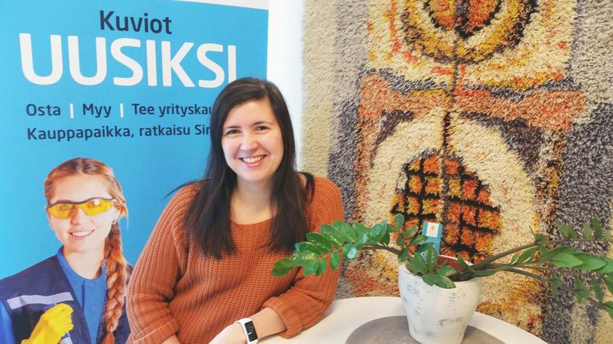 Paula Pihlajamaa luotsaa Restartup-palveluita. Maksuton palvelu on suunnattu kaikille yrityskaupoista kiinnostuneille.
