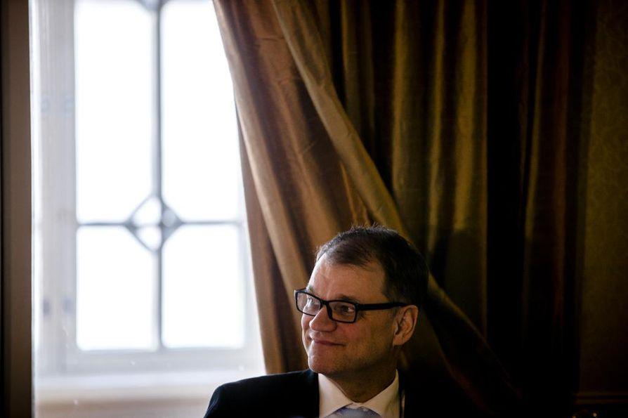Pääministeri Juha Sipilä vastasi median kysymyksiin pääministerin haastattelutunnilla sunnuntaina.