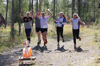 Rovaniemi vei suunnistuksen maakuntaviestiä lähdöstä maaliin