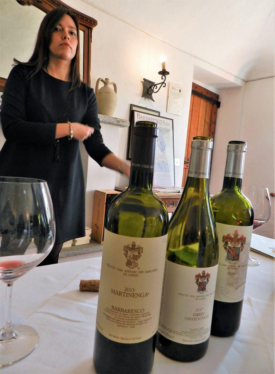 Tryffeliruuille sopivat hyvin Piemonten barbaresco-viinit, suosittelee viinimestari Valentina Cane. Myös seudun barolo passaa mainiosti.