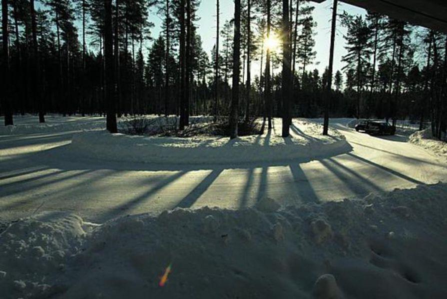 Myös Leppiniemen puistoissa näkyy Aarne Ervin kädenjälki.