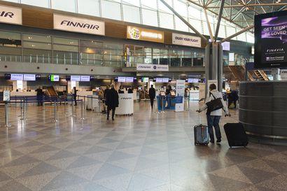 """Lentoasemayhtiö Finavia perustelee kasvomaskisuositustaan turvaväleillä – """"Etäisyyksien ja turvavälien pitäminen voi olla vaikeaa"""""""
