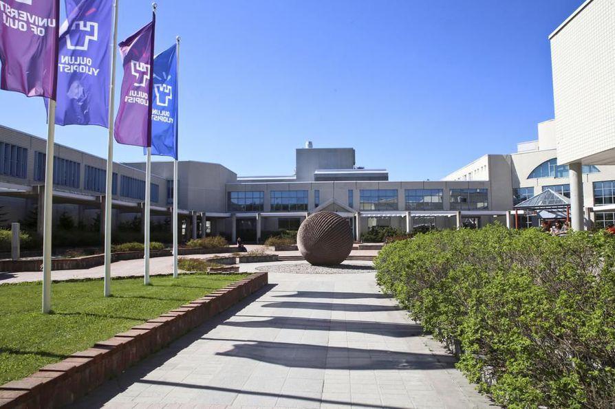 Yliopiston Linnanmaan kampus on rakennettu monessa vaiheessa.