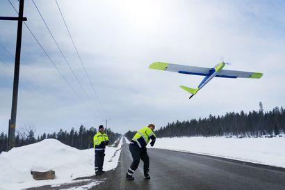 Latitude 66 Cobalt tekee tutkimuksia miehittämättömällä lennokilla Posiolla